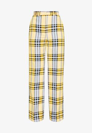 BLINIE DASHING - Trousers - banana