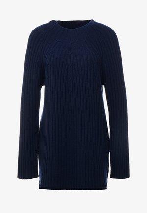 DARENA - Strikkegenser - navy blazer
