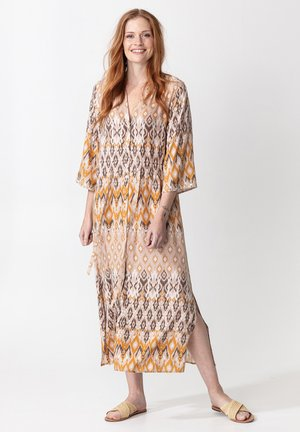 TASANEE LONG - Robe longue - beige