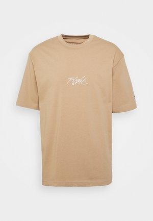 CREW - T-shirt med print - hemp