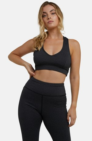 High support sports bra - olive