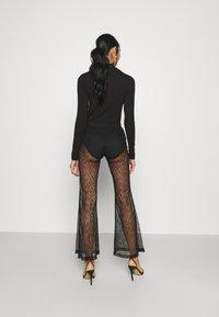 Weekday - JULIE TROUSER - Trousers - black - 2