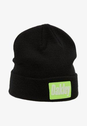 PATCH BEANIE - Mütze - blackout