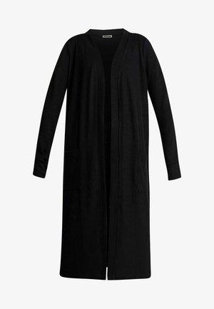 NMCITY LONG CARDIGAN - Cardigan - black