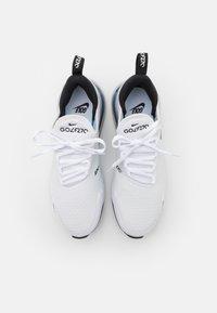 Nike Golf - AIR MAX 270 G - Golfskor - white/black/pure platinum - 3