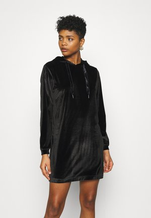 JDY HOODIE DRESS - Kjole - black