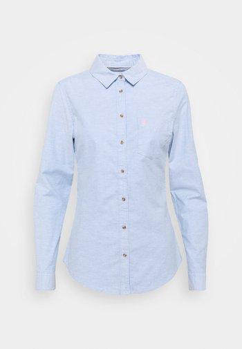 CAMISA OXFORD  - Button-down blouse - medium blue