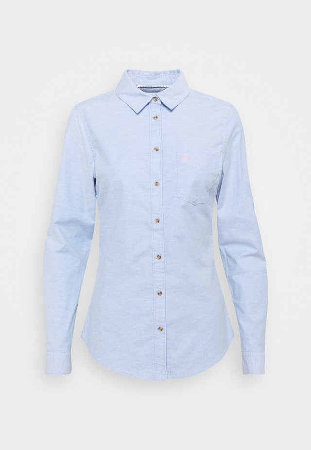 CAMISA OXFORD  - Button-down blouse - medium blue
