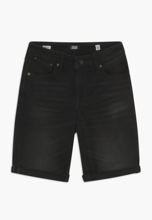 JJIRICK - Shorts vaqueros - black denim