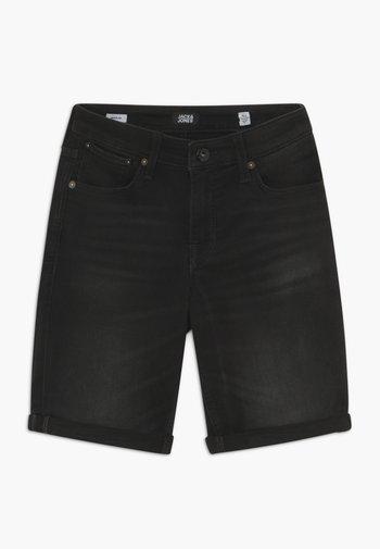 JJIRICK - Denim shorts - black denim