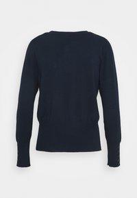 Marks & Spencer London - STITCH JUMPER - Stickad tröja - dark blue - 1