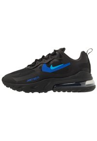 Nike Sportswear - AIR MAX 270 REACT - Sneakers - black/blue hero/hyper royal/cool grey/anthracite - 0