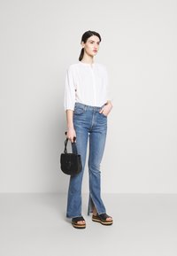 CLOSED - CHERRY - Button-down blouse - ivory - 1