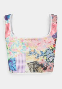 NEW girl ORDER - COTTAGE MIXED PRINT CROP - Top - multi - 1