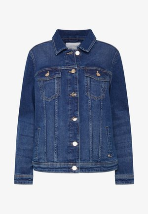BASIC JACKET - Denim jacket - medium blue
