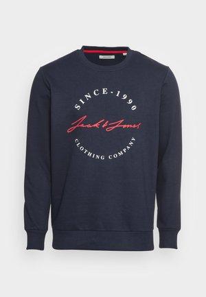 JJHERRO CREW NECK - Sweatshirt - navy blazer