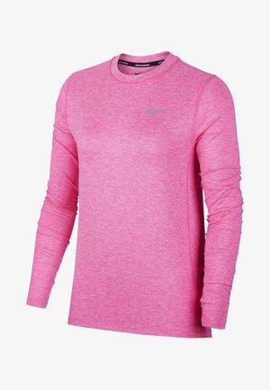 W NK ELEMENT  - Sportshirt - hyper pink/pink glow/heather