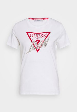 ICON  - Camiseta estampada - true white