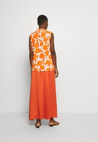 Emily van den Bergh - BLOUSE - Bluser - white/orange - 0