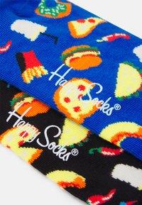 Happy Socks - JUNK FOOD SOCK UNISEX 2 PACK - Calcetines - multi - 2
