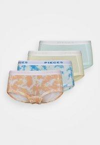 PCLOGO LADY TIE DYE 4 PACK - Pants - fair aqua