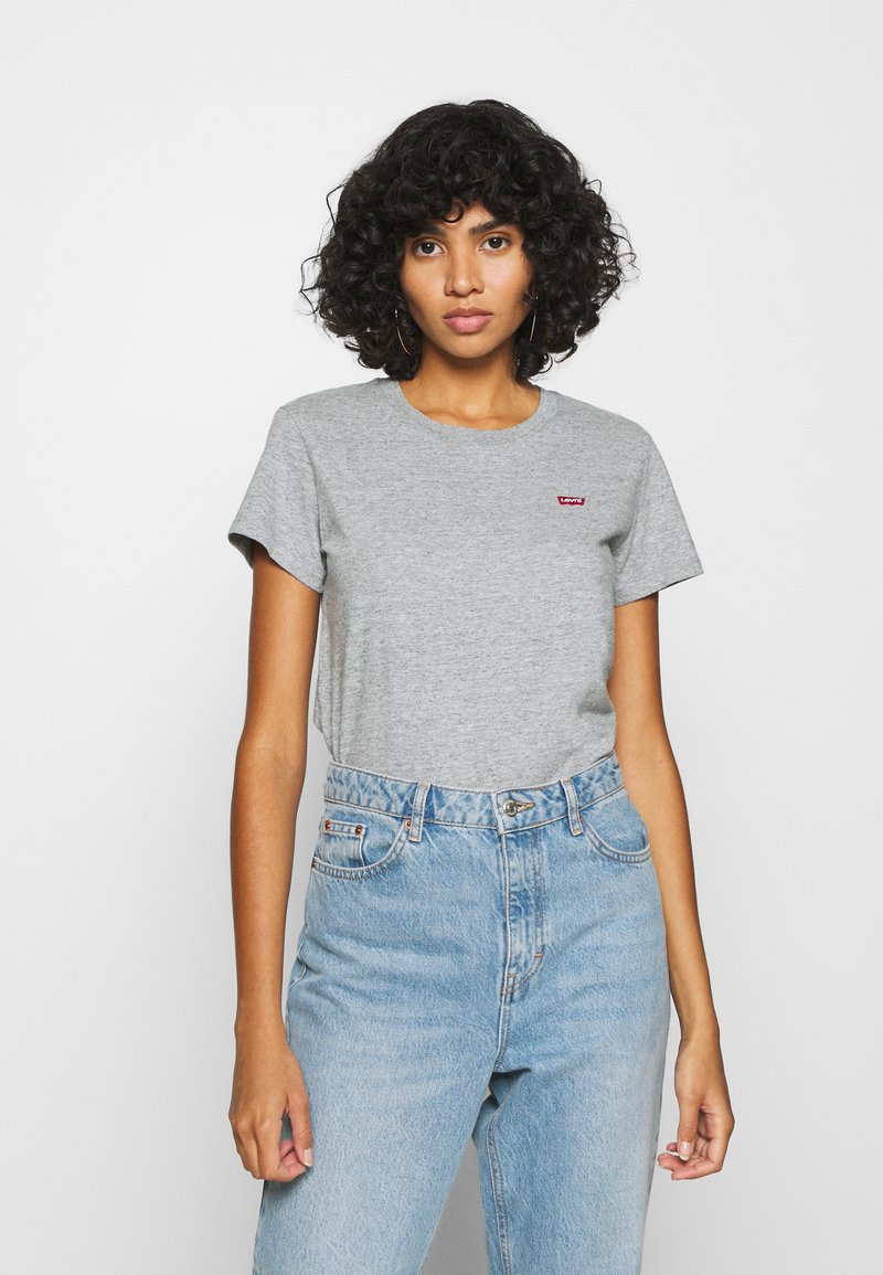 Levi's® - PERFECT TEE - T-shirts - yosemite heather grey