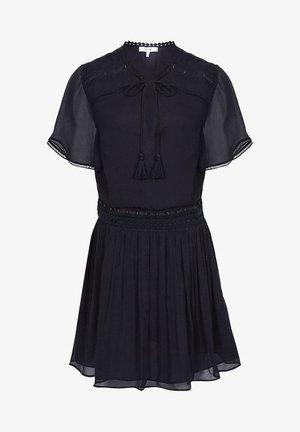 Day dress - navy blue