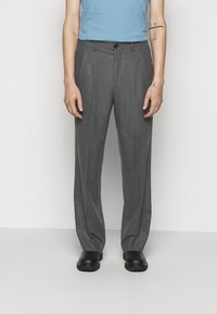 PS Paul Smith - MENS TROUSER WIDE LEG - Stoffhose - grey - 0