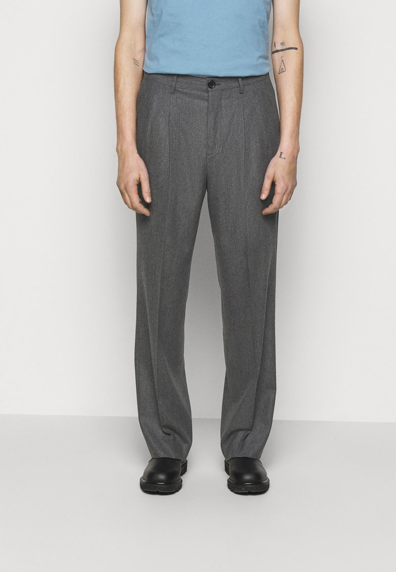 PS Paul Smith - MENS TROUSER WIDE LEG - Stoffhose - grey