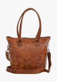 Gusti Leder - Käsilaukku - brown - 1