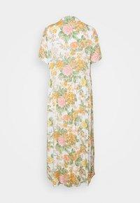 Monki - Vestido largo - white dusty light rosegarden - 6