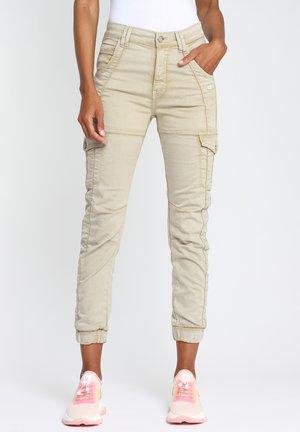 GISELLE  - Cargo trousers - beige