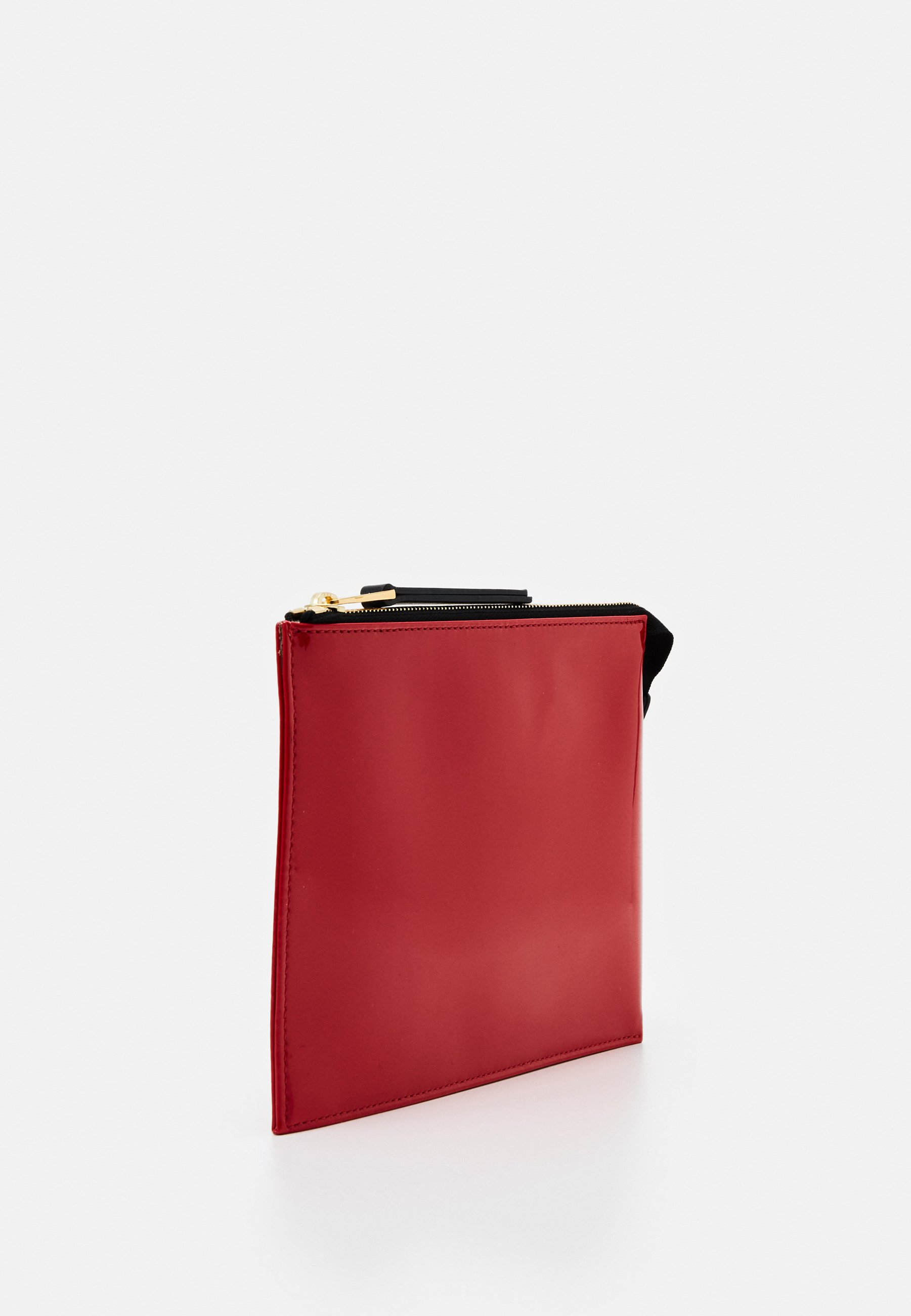 N°21 ZIPPED POUCH - Clutch - red