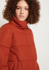 TOM TAILOR DENIM - Zimní bunda - rust orange - 4