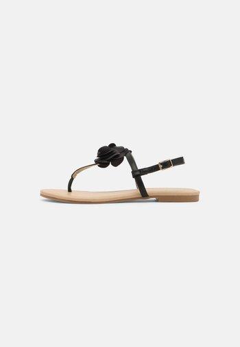 CHIO - T-bar sandals - black