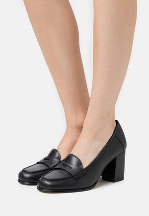 BUCHANAN MID LOAFER - Tacones - black