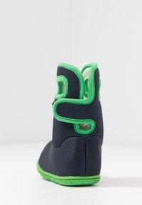 Bogs - BABY SOLID - Zimní obuv - navy - 4
