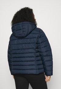 Tommy Jeans Curve - ESSENTIAL HOODED JACKET - Winter jacket - twilight navy - 3