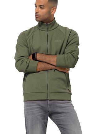 Fleece jacket - light moss