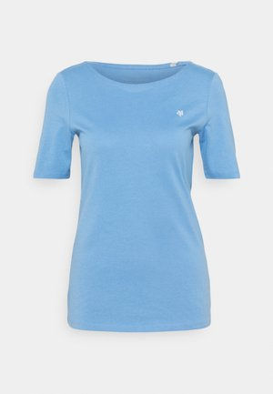 SHORT SLEEVE ROUND NECK - Basic T-shirt - washed cornflower