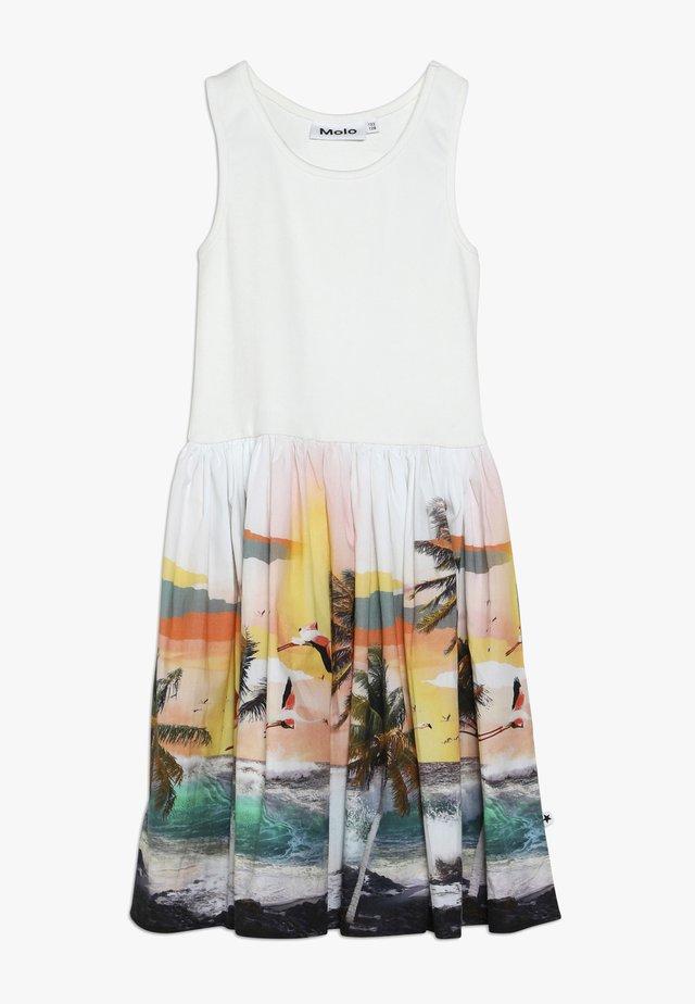 CASSANDRA - Day dress - white/multi-coloured