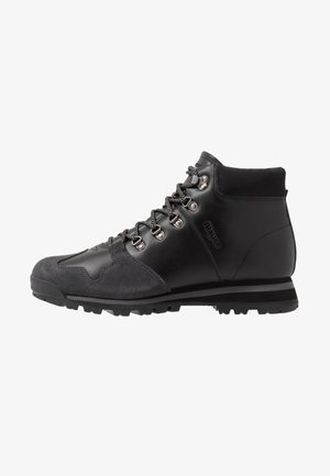 AKRON - Bottines à lacets - black