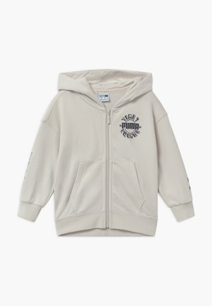 FULL-ZIP HOODIE - Zip-up hoodie - vaporous gray