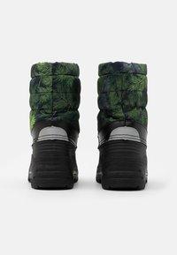 Reima - NEFAR UNISEX - Winter boots - dark green - 2