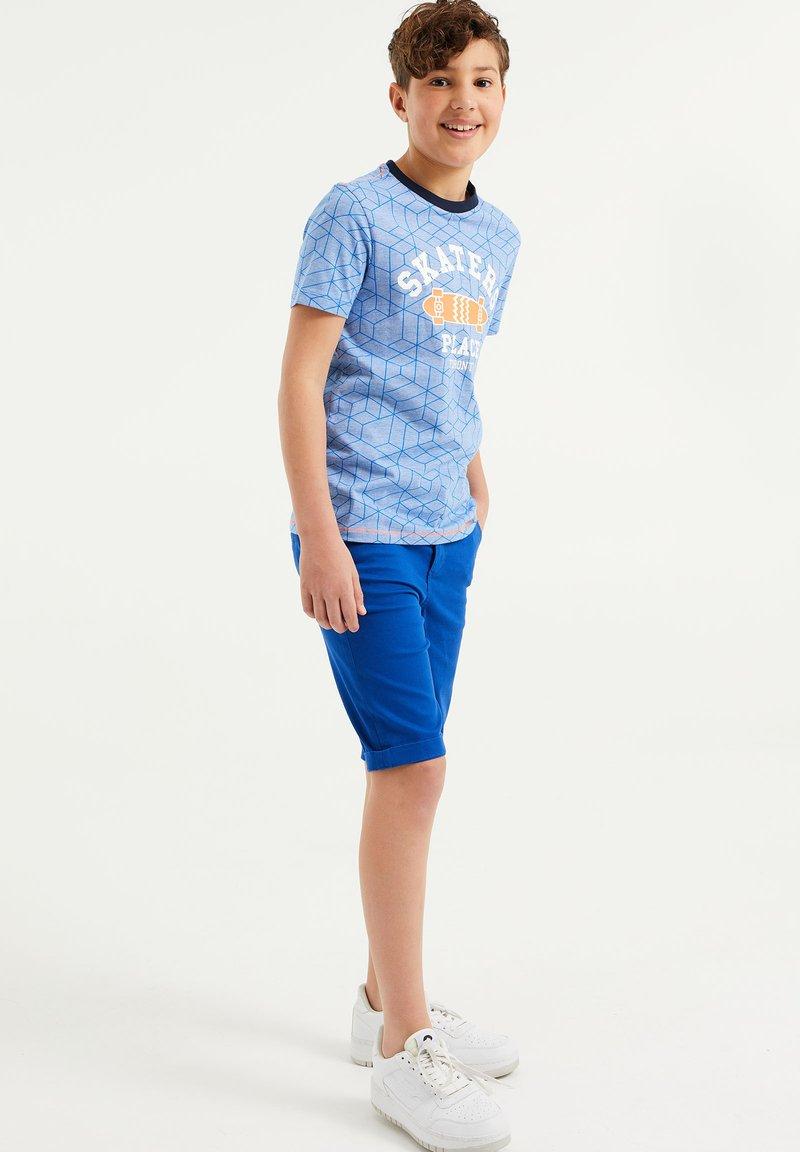 WE Fashion - Shorts - cobalt blue