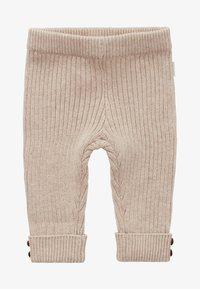 Noppies - RATAN - Trousers - sand melange - 1