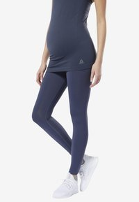 Reebok - YOGA LUX 2.0 MATERNITY TIGHTS - Tights - blue - 0