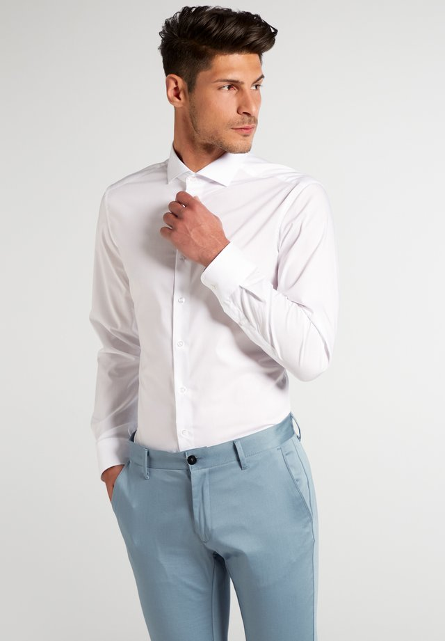 UNI STRETCH SLIM FIT - Zakelijk overhemd - white