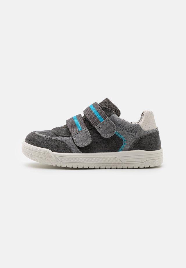 EARTH - Touch-strap shoes - grau/hellgrau