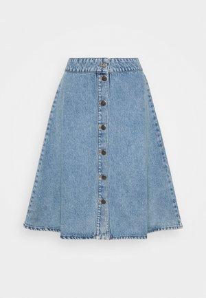 VINTAGE INDIGO STELISSA - Denimová sukně - washed blue